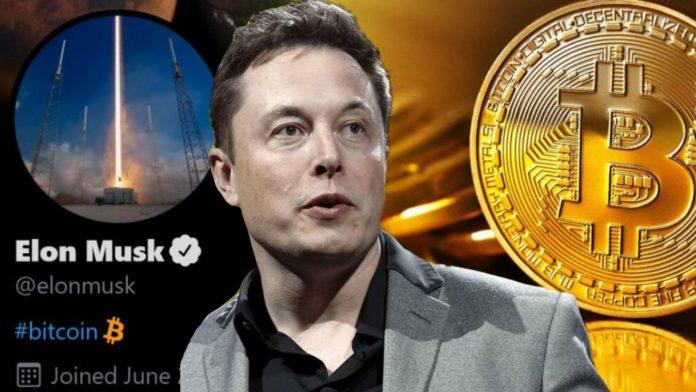 Bitcoin вновь упал из-за Илона Маска