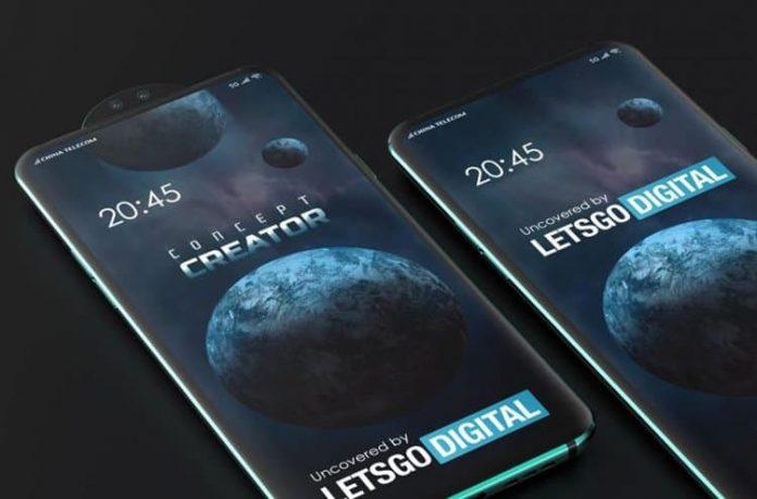 Xiaomi подготовила камеру для смартфона, выдвигающуюся наружу за счет вращения