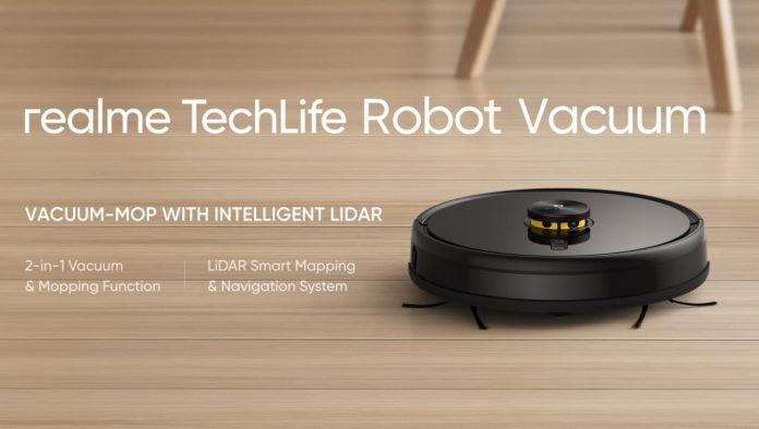 Realme представила свой первый «умный» пылесос