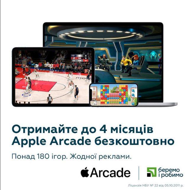 «Приватбанк» предоставил пользователям Privat24 бесплатный доступ к популярному сервису Apple