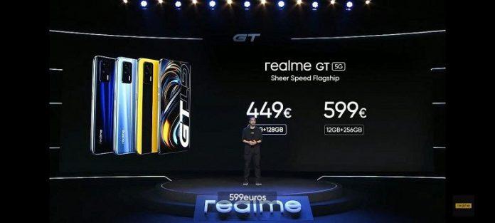 realme GT 5G: представлена глобальная версия одного из самых дешевых смартфонов со Snapdragon 888