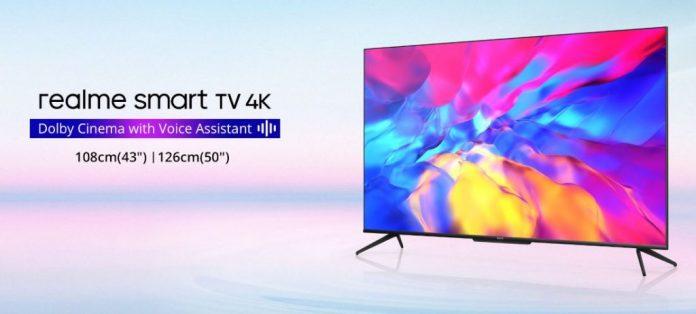 Realme представила доступные телевизоры с минимальными рамками и Android TV
