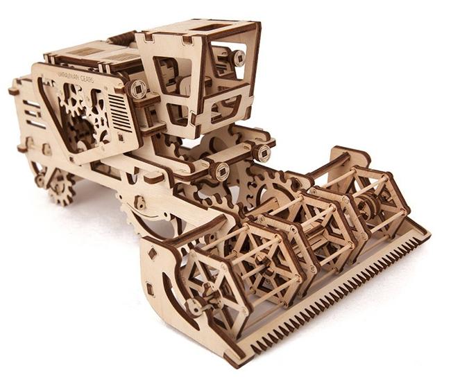 Деревянные 3D конструкторы в Украине
