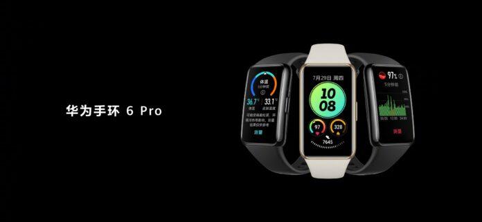 Huawei Band 6 Pro: конкурент Xiaomi Mi Band 6 с возможностью измерять температуру тела