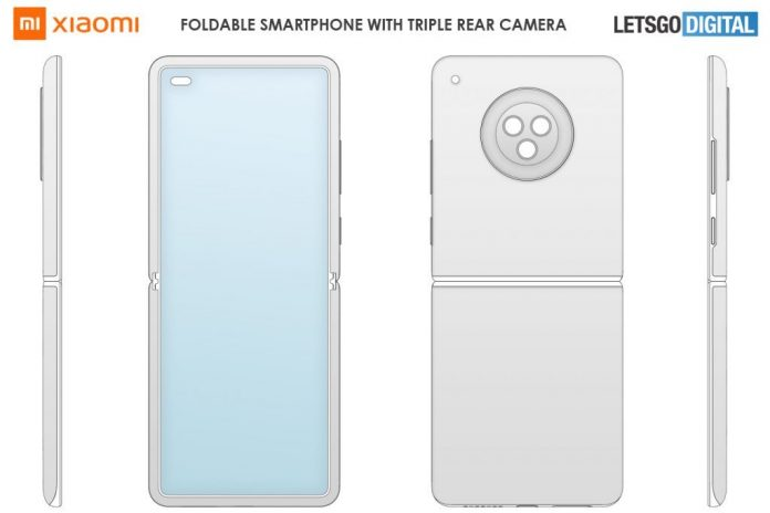 Xiaomi показала дизайн первого бюджетного раскладного смартфона