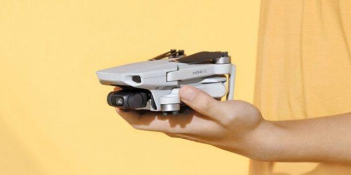 DJI представила самый бюджетный и компактный дрон Mini SE