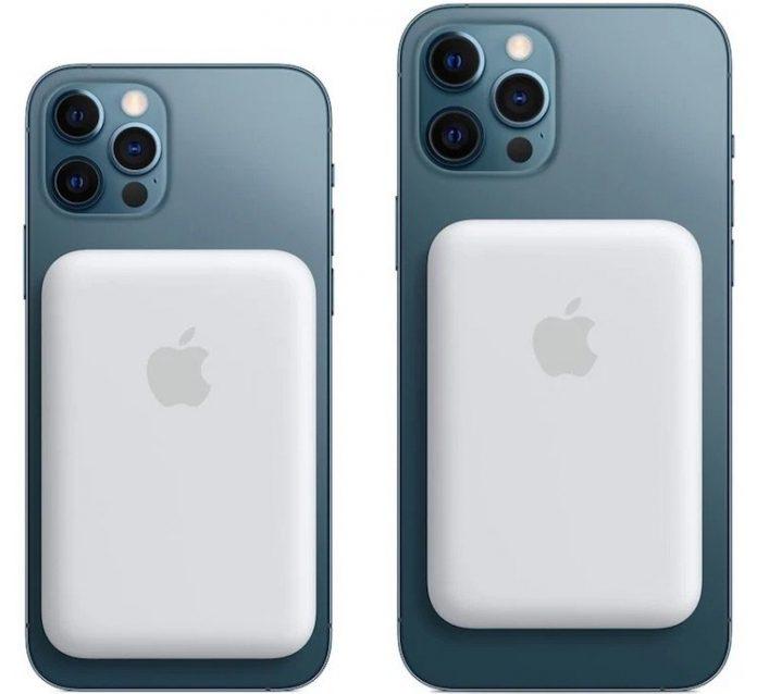 Apple представила беспроводной аккумулятор для iPhone 12