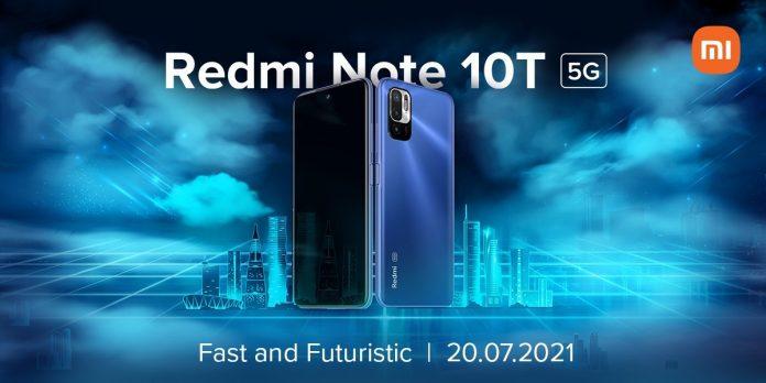 Redmi Note 10T: новый бюджетный смартфон с аккумулятором на 5000 мАч