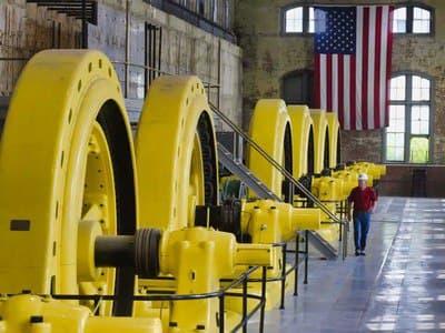 Биткоин добывают даже на старой гидроэлектростанции