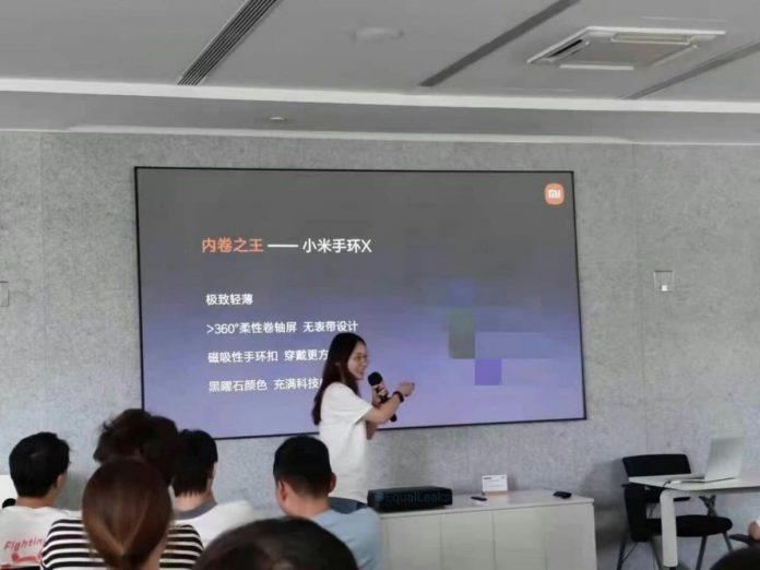 На смену Xiaomi Mi Band 6 придёт более необычный Mi Band X
