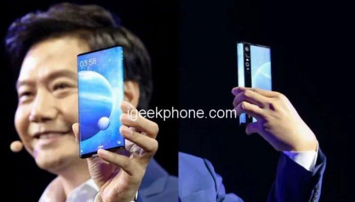 Mi Mix 4: впервые показали фото самого необычного флагмана Xiaomi
