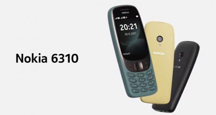 Nokia перевыпустила знаменитую модель 6310 спустя 20 лет