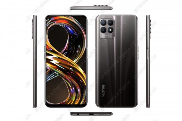 Realme 8i: первый смартфон с процессором MediaTek G96 и 50 Мп камерой