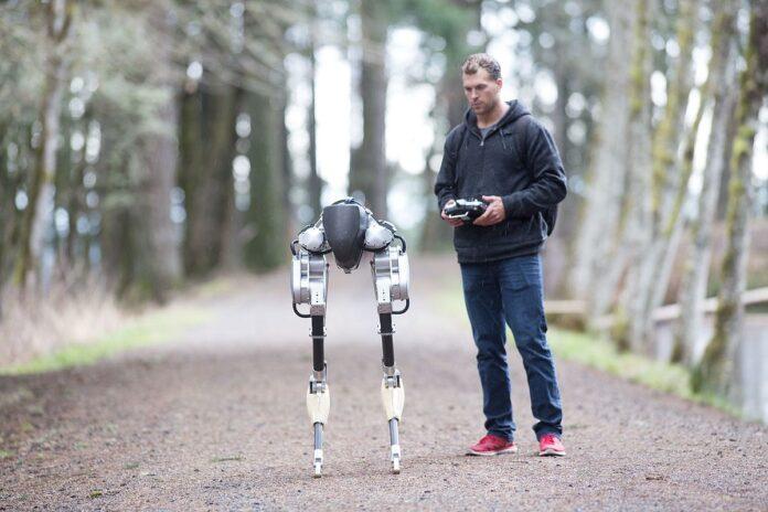 Робот пробежал без остановки 5 км