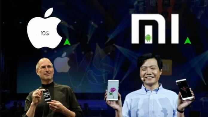 Высшее руководство Xiaomi пользуется смартфонами Apple