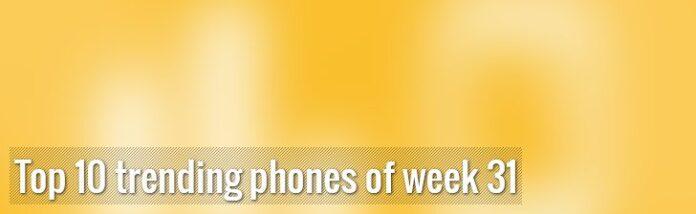 10 самых популярных смартфонов прошлой недели