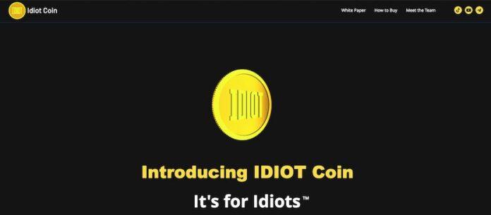 Криптовалюта с говорящим названием Idiot неожиданно стала популярной