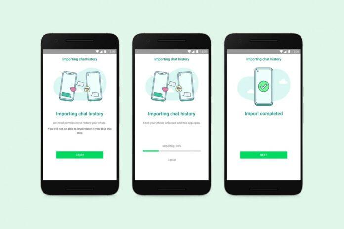 В WhatsApp появилась возможность переносить сообщения с iOS на Android-смартфоны