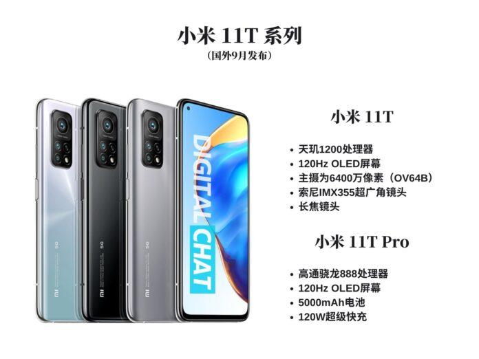 Раскрыт дизайн и стоимость бюджетного флагмана Xiaomi Mi11T Pro