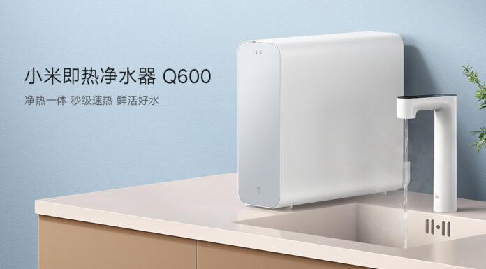 Xiaomi представила первый очиститель для воды с функцией нагрева