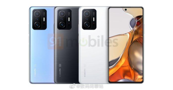 Xiaomi Mi 11T: подтвержден дизайн бюджетного флагмана