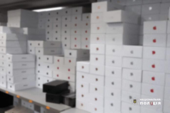 Киберполиция Киева разоблачила крупную сеть онлайн-магазинов по продаже поддельной техинки Apple