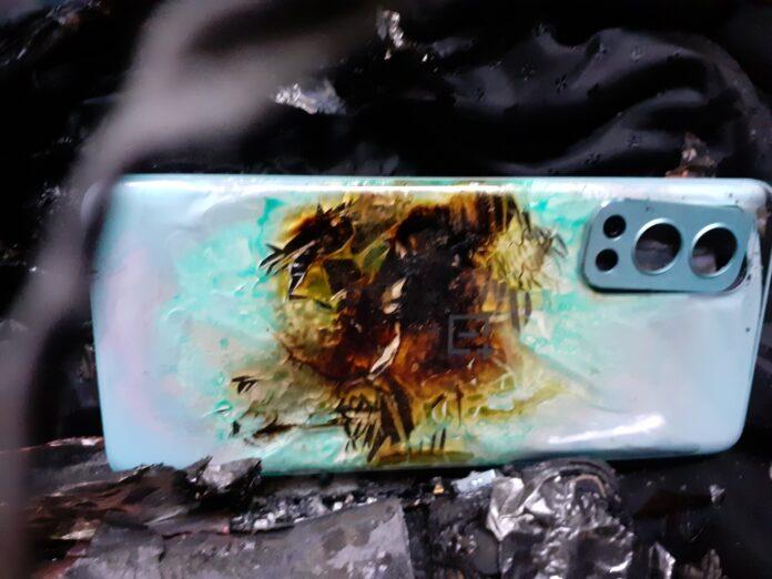 Взорвался еще один смартфон популярного китайского производителя