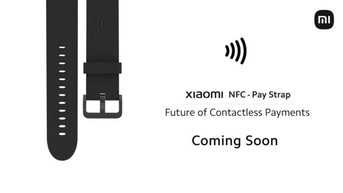 Xiaomi анонсировала ремешки для часов с функцией бесконтактных платежей
