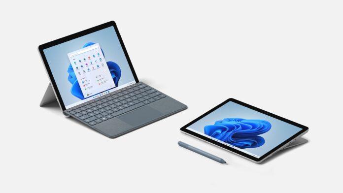 Microsoft представила ноутбук Surface Laptop Studio и планшеты Pro 8, Pro X и GO 3