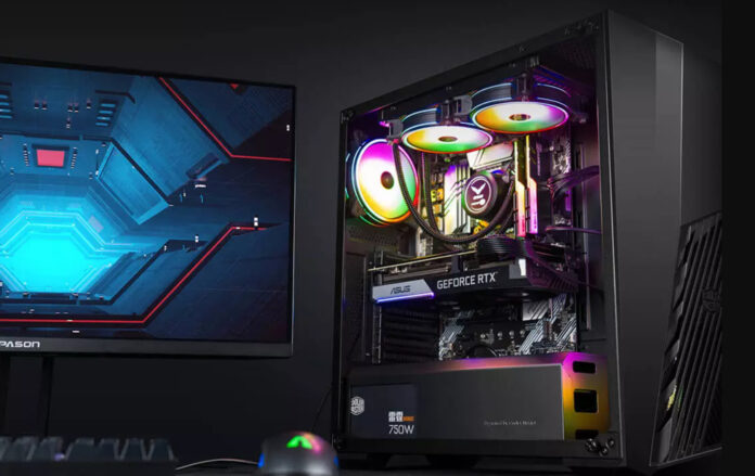 Xiaomi выпустила первый игровой компьютер с водяным охлаждением и RTX 3070Ti