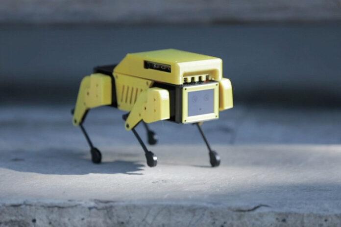 Mini Pupper: робот-собака с камерой, за 250 долларов