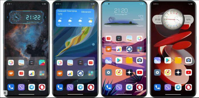 На смартфоны Xiaomi можно установить сторонние виджеты